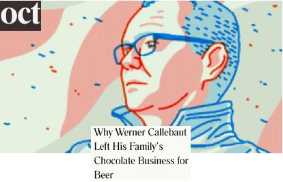 Werner Callebaut Chocolate Beer